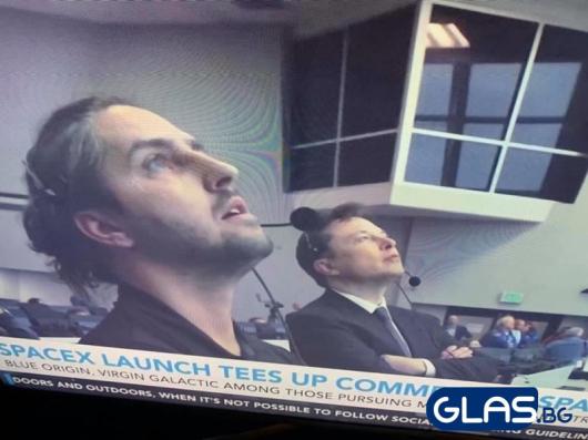 Българската следа в SpaceX. Снимката е от 30 май 2020 година.