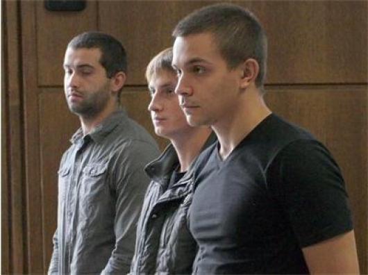 Александър Данаилов (най-вляво), Вили Георгиев (в средата) и Светлозар Стоилов (най-вдясно). Снимка: 24 часа