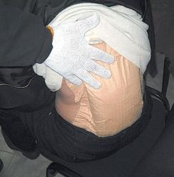 53-годишният Меджи Саветин с гърбицата от дрога