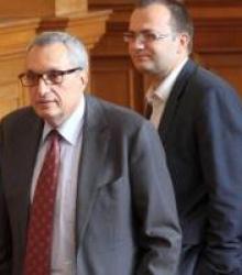Мартин Димитров и Иван Костов постигнаха своето, като убедиха управляващите, че Найденов трябва да бъде изслушан. Сн.: БГНЕС