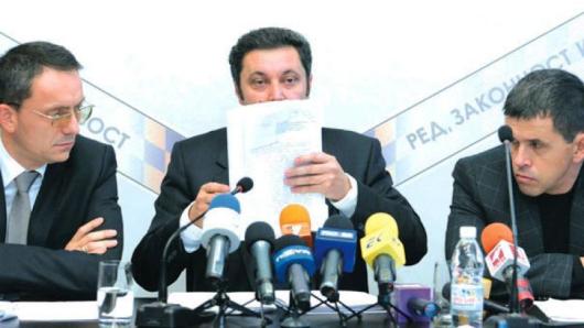 Шестима министри на Бойко Борисов нямат място в кабинета, обяви на пресконференция Яне Янев