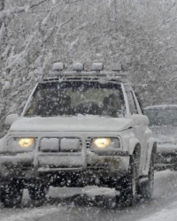 Сняг засипа Хасково и региона. Сн.: Bulphoto