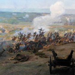 Обсадата на Плевен е най-тежката и продължителна битка в хода на Руско-турската война. Сн.: Архив