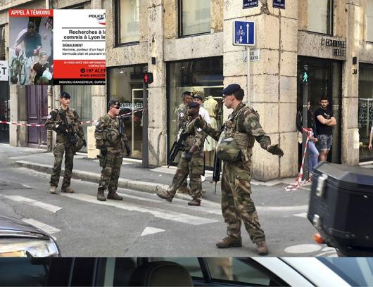 Снимка: AP/БТА/Twitter/Police nationale