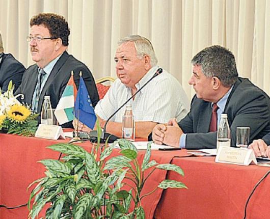Обучението между занаятчии от Германия и Сандански откри кметът на общината Андон Тотев