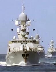 Русия започна и военноморска офанзива срещу джихадистите в Сирия. Сн.: EPA/БГНЕС