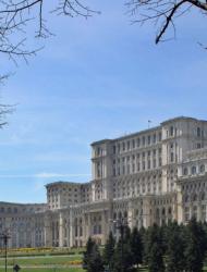 Сградата на парламента на Румъния в Букурещ. Сн.: EPA/БГНЕС