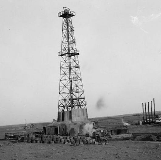 Земетресения през 20-те и 30-те години на XX век били предизвикани от търсене на нефт. Сн.: Wikimedia