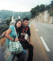 Емил и приятелката му над Монако