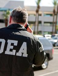 Над 150 ареста са били извършени в хода на операцията. Сн.: EPA/БГНЕС