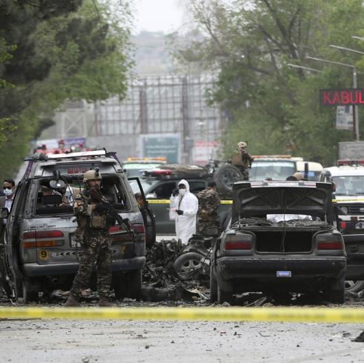 Самоубийствената атака е извършена с кола, заредена с експлозиви. Сн.: БТА