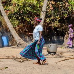 Драматичният недостиг на вода засяга най-вече бедните развиваващи се страни (тук Сенегал, Африка). Сн.: Shutterstock
