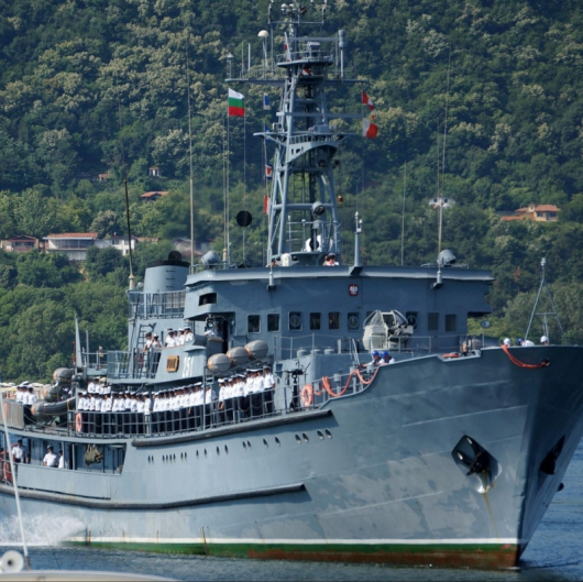Руският патрул е открил нелегален товар на севернокорейския кораб. Сн.: Bulphoto