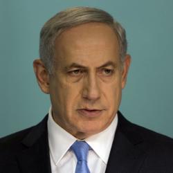 Бенямин Нетаняху: Конференцията във Франция отдалечава мира. Сн.: EPA/БГНЕС