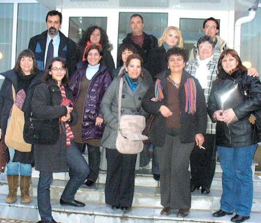 Международният екип на проекта в Благоевград