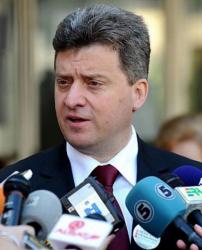 Георге Иванов - президент на Македония. Сн.: EPA/БГНЕС