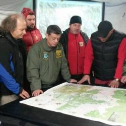 Кризисният щаб определя новите терени, в които ще бъде търсен Мирослав. Сн.: bTV Media Group